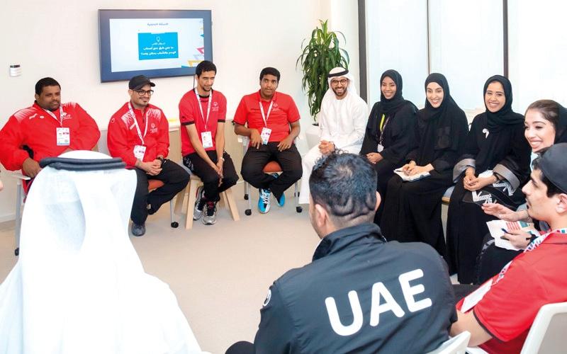 الصورة: شراكة بين «الأولمبياد الخاص» ومجلس أبوظبي للشباب