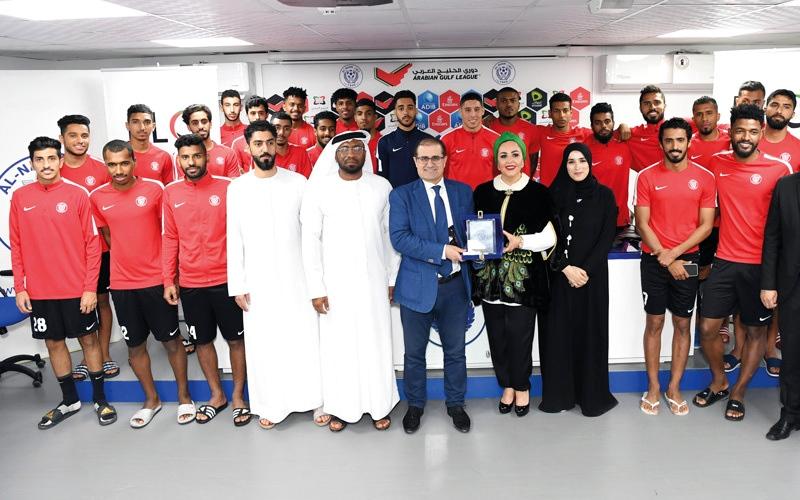 الصورة: النصر يستضيف ورشة التدريب الإعلامي للاعبين