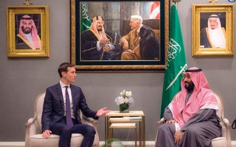 الصورة: واشنطن: ترامب وولي العهد السعودي بحثا الخطر الحوثي والإيراني في اليمن