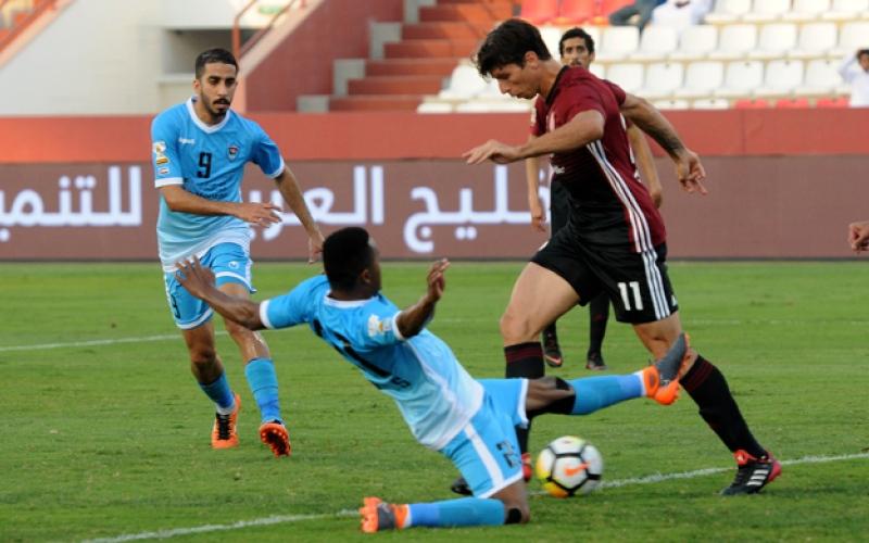 الصورة: تيغالي يقود الوحدة لنهائي كأس الخليج العربي