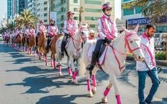 الصورة: «القافلة الوردية» الثامنة توفّر 7795 فحصاً مجانياً
