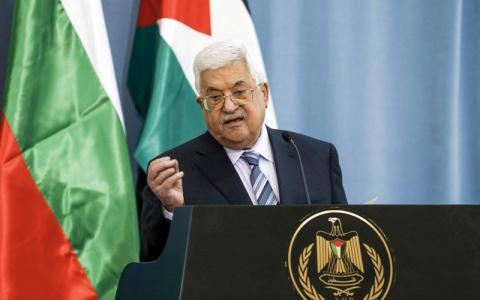 الصورة: عباس: سنواصل جهود تحقيق السلام بالعمل السياسي والمفاوضات