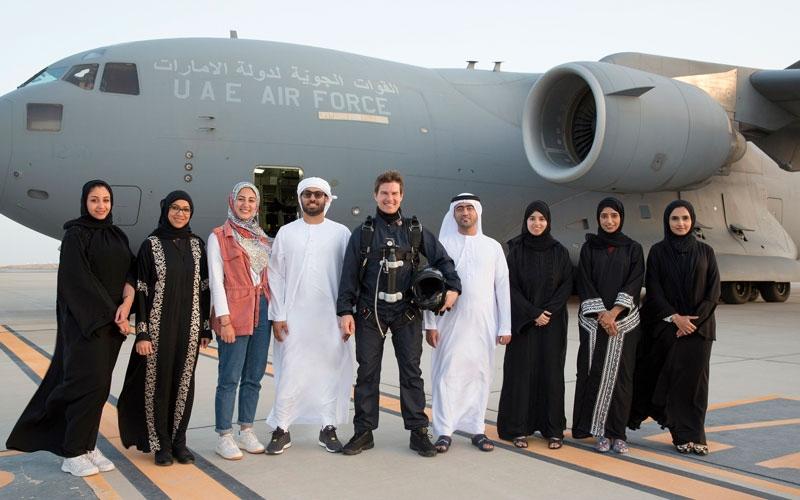 """الصورة: الممثّل العالمي توم كروز يصور فيلم """"مهمة مستحيلة السقوط"""" في أبوظبي"""