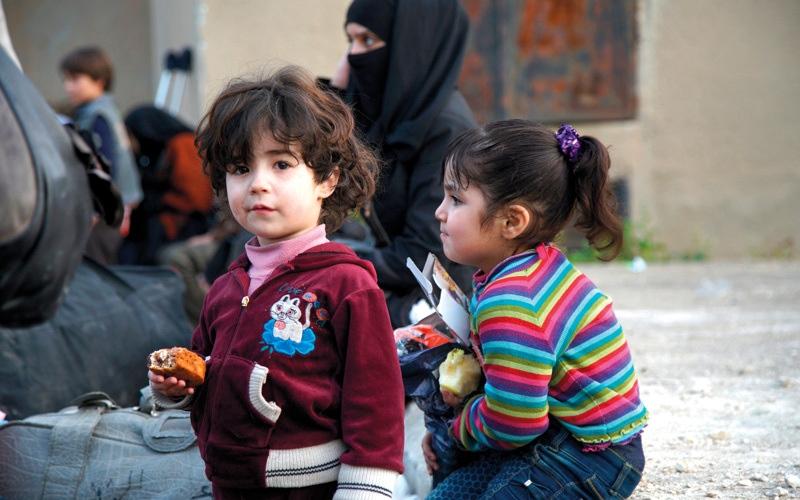 الصورة: اتفاق على هدنة بمنطقة في الغوطة