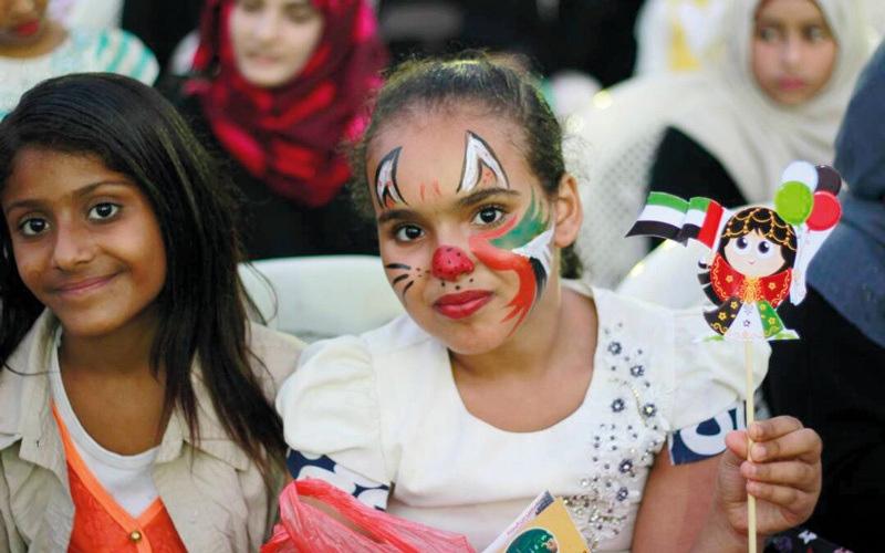 الصورة: «الهلال» تكرّم أطفال عدن في اليوم العالمي لمتلازمة داون