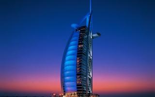 """الصورة: بالفيديو.. برج العرب بتقنية """"تايم لابس"""""""