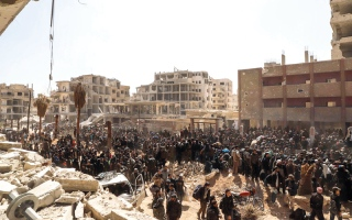 الصورة: أنباء عن «اتفاق أولي» بين روسيا و«جيش الإسلام» حول مدينة دوما