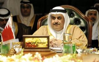 الصورة: وزير خارجية البحرين لمسؤولي قطر: احترموا القانون الدولي