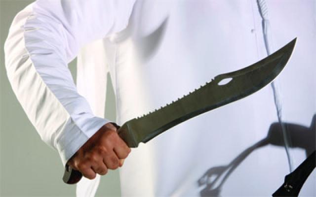 سلاح ابيض في ببجي