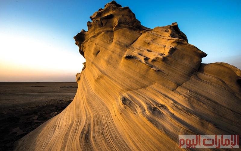 الصورة: شواهد من الصحراء