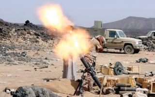الصورة: قوات الشرعية تتقدم في 5 جبهـــــات بصعدة وتقترب من معقل الحوثي