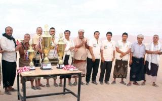 الصورة: «الهلال» تكرِّم الفرق المشاركة في بطولة أندية شباب شبوة