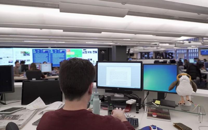 """الصورة: بالفيديو.. """"أخبار غوغل"""" لمحاربة الأخبار الكاذبة وتمكين الصحفيين"""