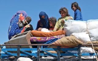 الصورة: دول غربية تتوعّد بمحاسبة الأسد على الهجوم الكيماوي في خان شيخون
