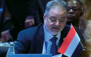 الصورة: المخلافي: كل المؤشرات تثبت عدم جدية الانقلابيين بالسلام