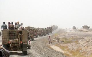 الصورة: الجيش اليمني يطلق المرحلة الثــانية من عملية «قطع رأس الأفعى» الحوثية فـي صعدة
