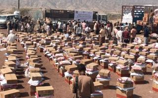 الصورة: «الهلال» تسيّر قافلة إغاثة ثانية إلى كرش لحج.. وتبحث احتياجــات عدن الخدمية والإنسانية