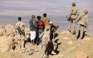 الصورة: «الشرعية» تتوغــل في معقـل الانقلابيين بصعدة.. وتسيطر على «زلزال» صنعاء