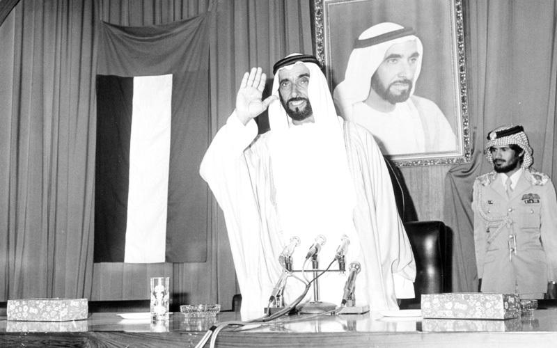 الشيخ زايد قدم نموذجاً فريداً بين الرؤساء والقادة العرب. أرشيفية
