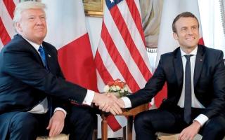 الصورة: الضبابية تطغى على موقفـي ترامب وماكرون حيال توجيه ضربات إلى سورية