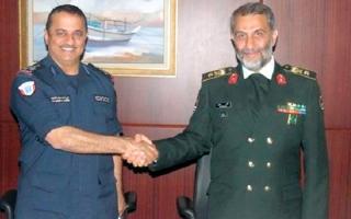 الصورة: قطر تضع حدودها البحرية تحت رقابة إيران باتفاق عسكري