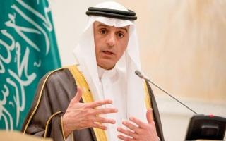الصورة: الجبير: الأزمة القطرية لن تكون مطروحة  في القمة العربية
