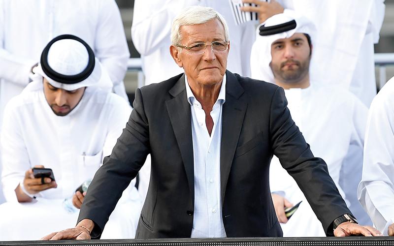 بيليه على عكازين في دبي.. وماتيرازي يعترض بشدة على الحكم علي حمد