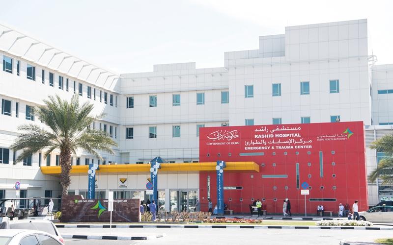 الصورة: نقص في حقن البلازما في مستشفى راشد