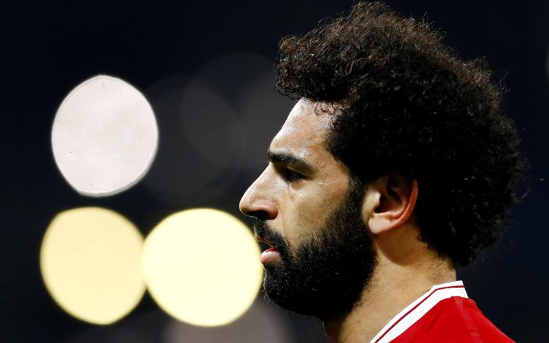 الجمهور بانتظار إبداعات النجم المصري محمد صلاح في مونديال روسيا. رويترز
