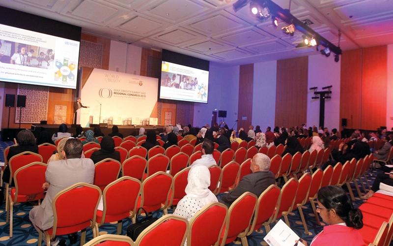 الصورة: الإمارات الثالثة خليجياً في معدلات السمنة