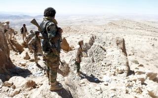 الصورة: «الشرعية» تسيطر على مواقع استراتيجية في ردمان البيضاء وتتقدم غرب تعز
