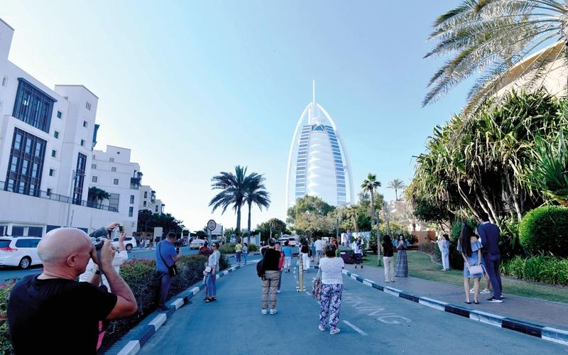 الصورة: 99.4 % من زوار دبي في 2017 «سعداء» بزيارة الإمارة
