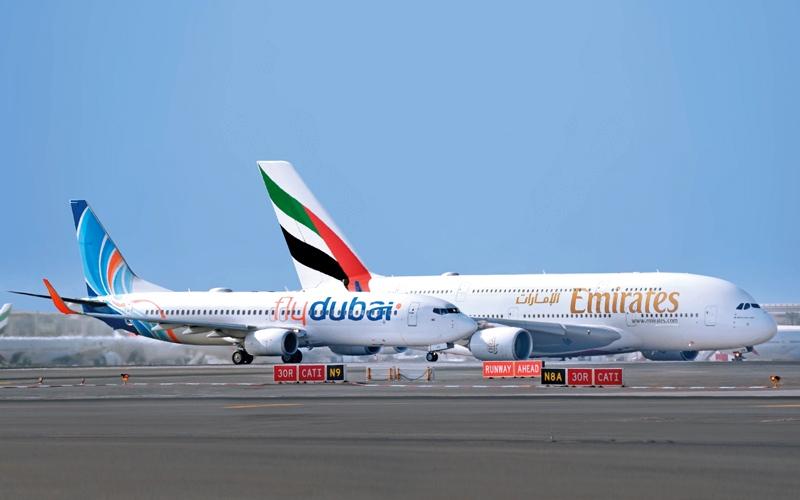 الصورة: 650 ألف مسافر استفادوا من شراكة «طيران الإمارات» و«فلاي دبي»