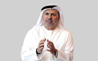 الصورة: قرقاش: أزمة قطر أساسها دعم التطرّف والإرهاب