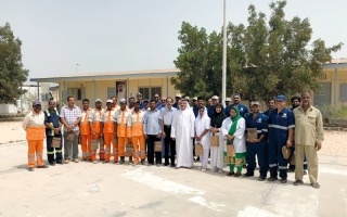 جزيرة أبوموسى تحتفل بـ «عام زايد»