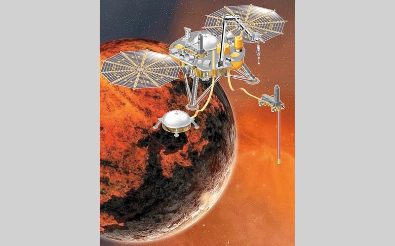 الصورة: (بالغرافيك)...«إنسايت» في مهمة إلى المريخ