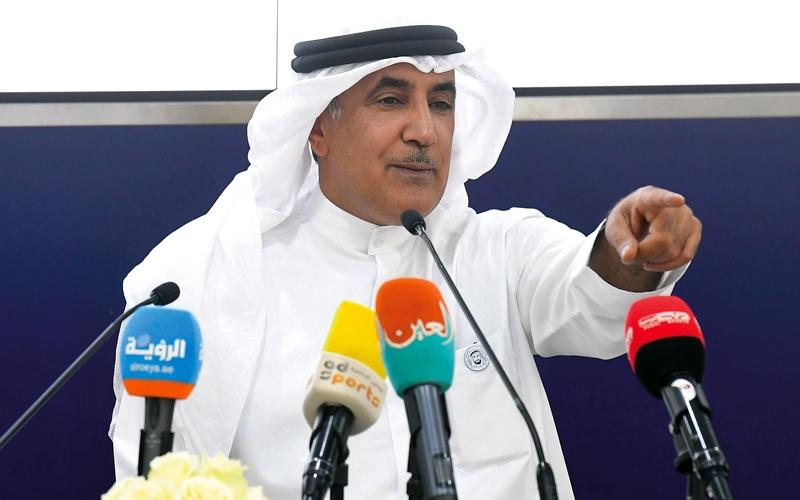 الصورة: الرميثي: القرار الرياضي التاريخي يؤكد أن الإمارات دولة التسامح والتعايش