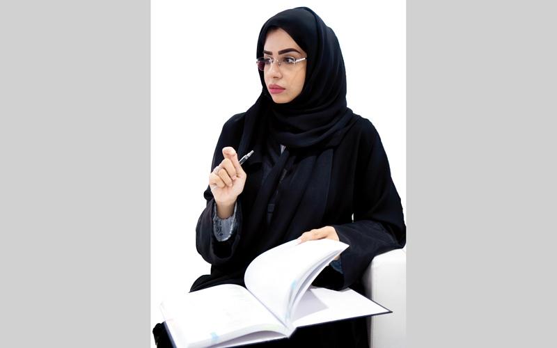 الصورة: شيخة.. أول مواطنة تنال «الدكتوراه» في الاقتصاد الإسلامي