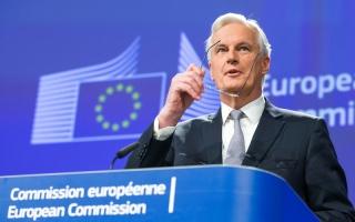 الصورة: كبير المفاوضين الأوروبيين: مفاوضات خروج بريطانيا تمرّ بمرحلة صعبة
