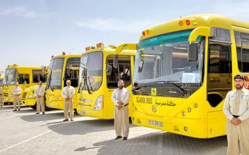 """الصورة: """"التربية"""" تمنع تواجد سائقي الحافلات داخل المبنى المدرسي"""