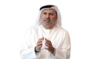 الصورة: قرقاش: أزمة قطر لن تُحل بوساطة غير خليجية
