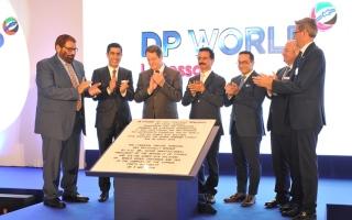 الصورة: الرئيس القبرصي ورئيس مجموعة موانئ دبي العالمية يفتتحان رسميا محطة الرحلات السياحية الجديدة في ليماسول