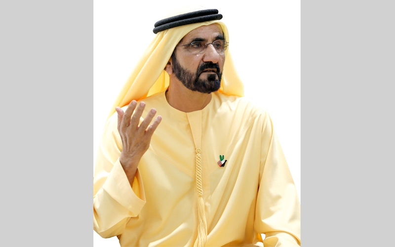 الصورة: محمد بن راشد: الإمارات تضع صحة الإنسان في مقدمة أولوياتها