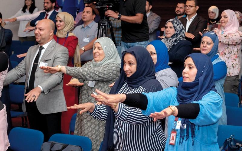 الصورة: معلمون يطرحون تطبيقات «الواقع الافتراضي» في تعليم العربية