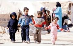 الصورة: القبة.. ملاذ آمن لتعليم أطفال اللاجئين السوريين في قرية أردنية