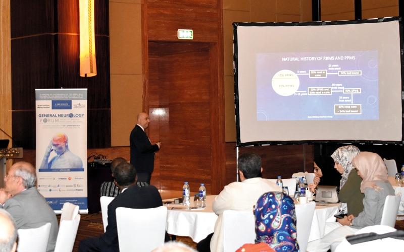 الصورة: مؤتمر في أبوظبي يناقش مستجدات علاج «التصلب اللويحي»