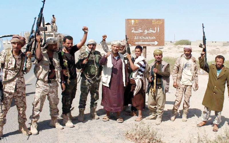 عناصر من المقاومة الوطنية اليمنية. غيتي