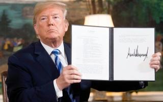 الصورة: إنترفيو .. انسحاب ترامب من الاتفاق النووي الإيراني  خطوة صائبة