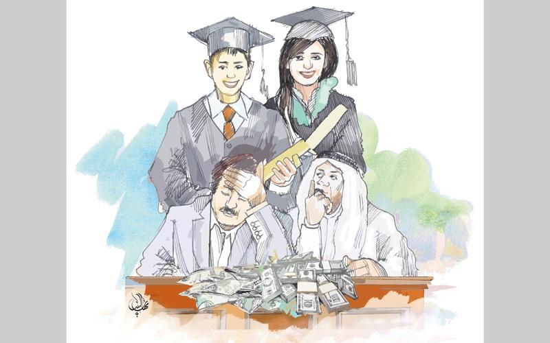 الصورة: مدارس تتربح من حفلات التخرج برسوم 2000 درهم