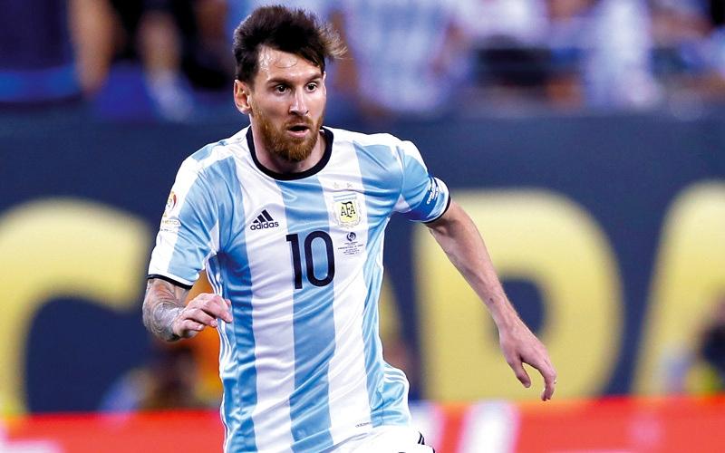 الصورة: ميسي: نجاح الأرجنتين في المونديال يعني الوصول إلى نصف النهائي